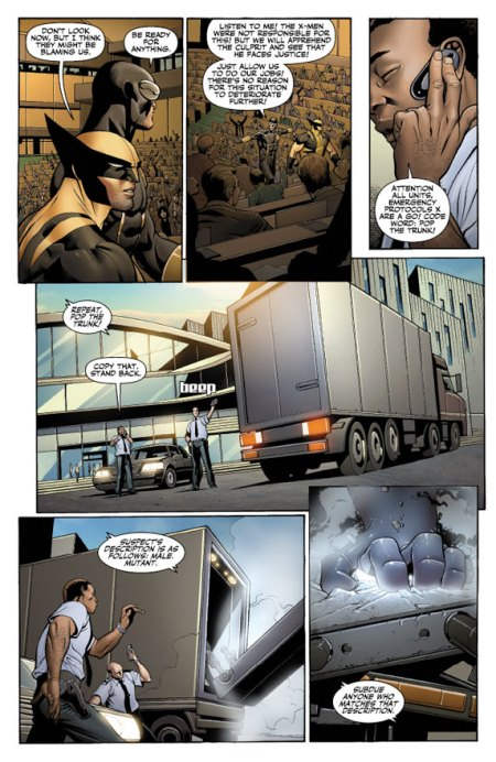 X-Men: Schism #1 Preview1