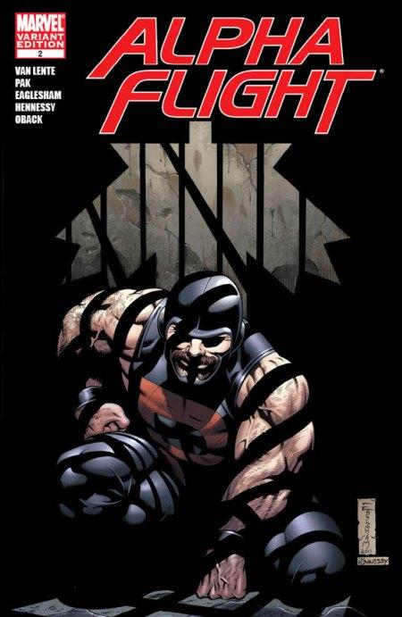 Alpha Flight #2 Cover Variant