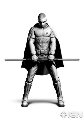 Batman Arkham Asylum Robin