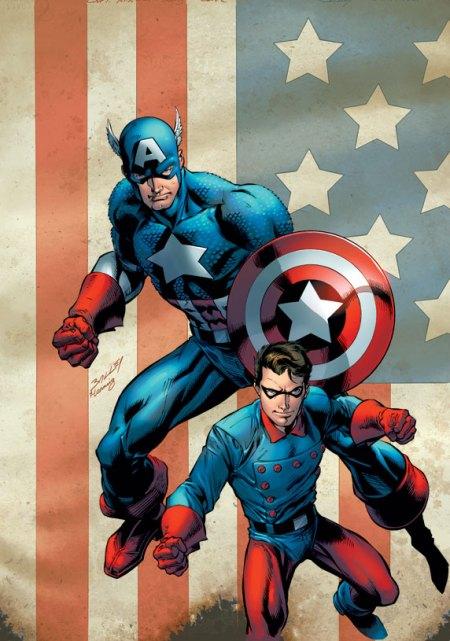 Captain America & Bucky #620 Cover Bagley