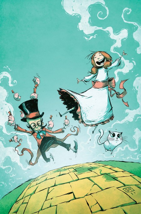 DOROTHY AND THE WIZARD IN OZ #1 COVER