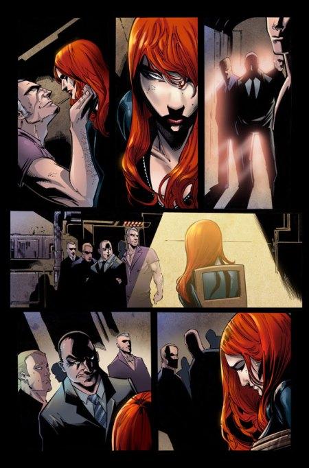 Fear Itself: Black Widow #1 Preview1