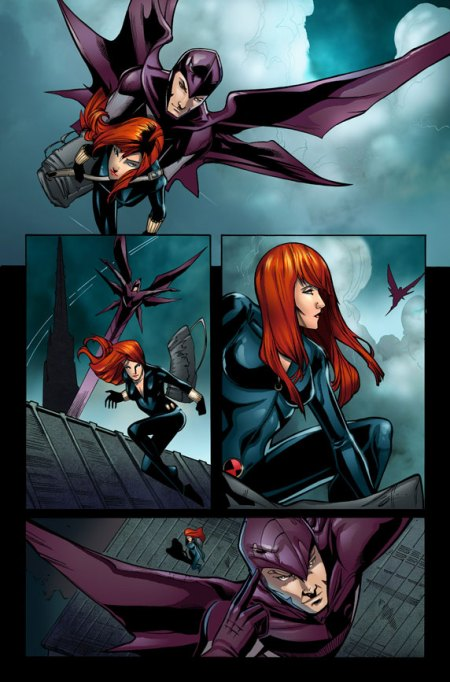 Fear Itself: Black Widow #1 Preview4