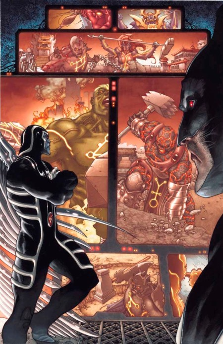 Fear Itself: Uncanny X-Force #1 Preview3