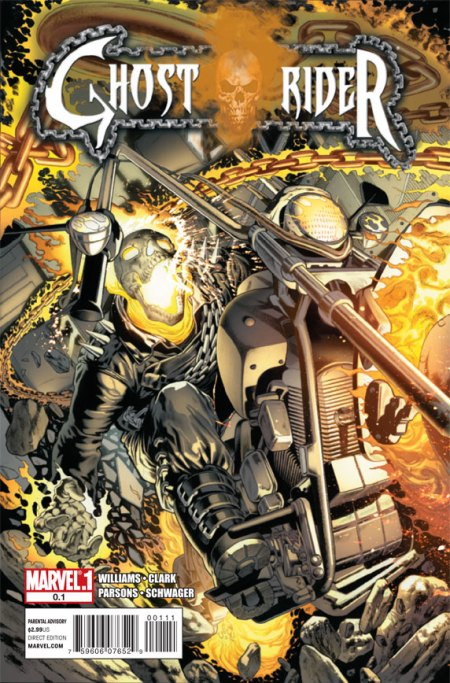 Ghost Rider #0.1 Cover