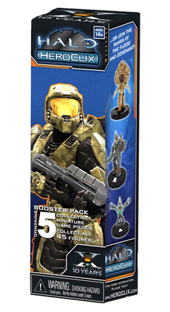 Halo HeroClix booster