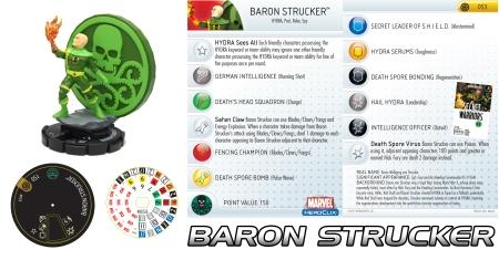 Heroclix Baron Strucker