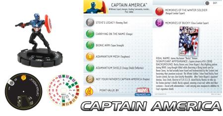 Heroclix Captain America