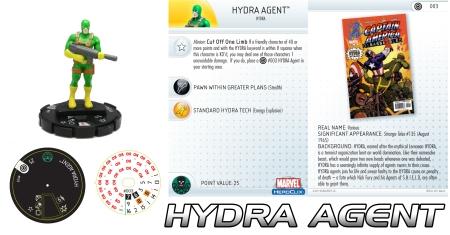 Heroclix Hydra Agent