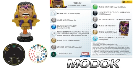 Heroclix Modok