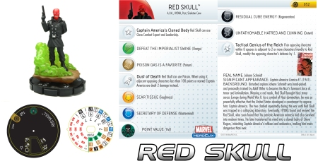 Heroclix Red Skull