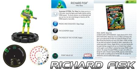 Heroclix Richard Fisk