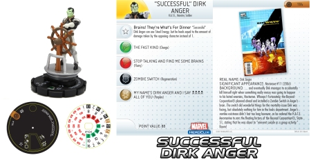 Heroclix Successful Dirk Anger