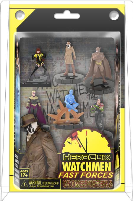 Heroclix Watchmen