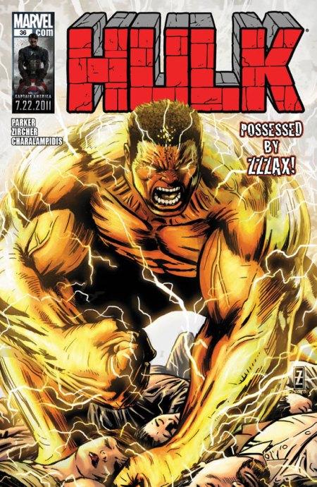 Hulk #36 Cover