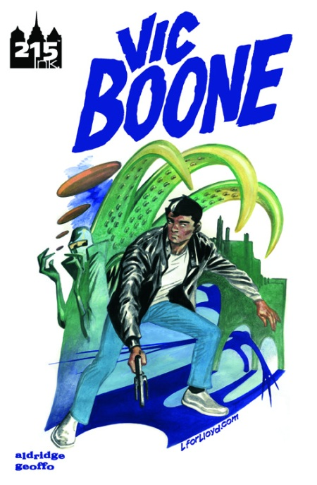 Vic Boone #1 Cover