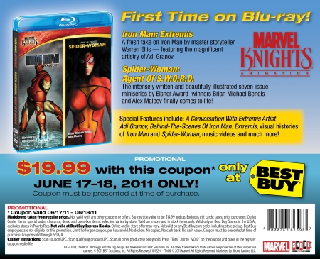 MARVEL KNIGHTS COUPON BEST BUY