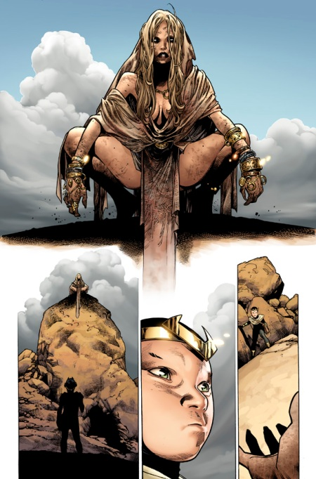 The Mighty Thor #4 Preview1