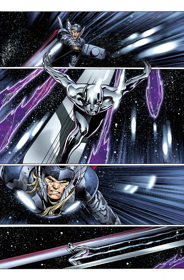 Gallery For > Batman Vs Galactus