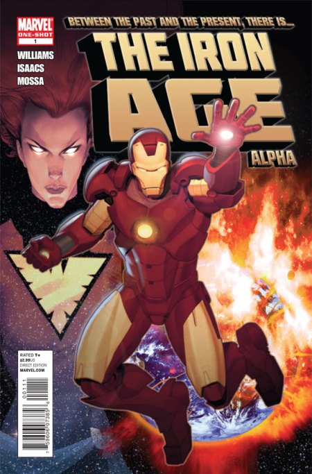 The Iron Age Alpha #1 Cover