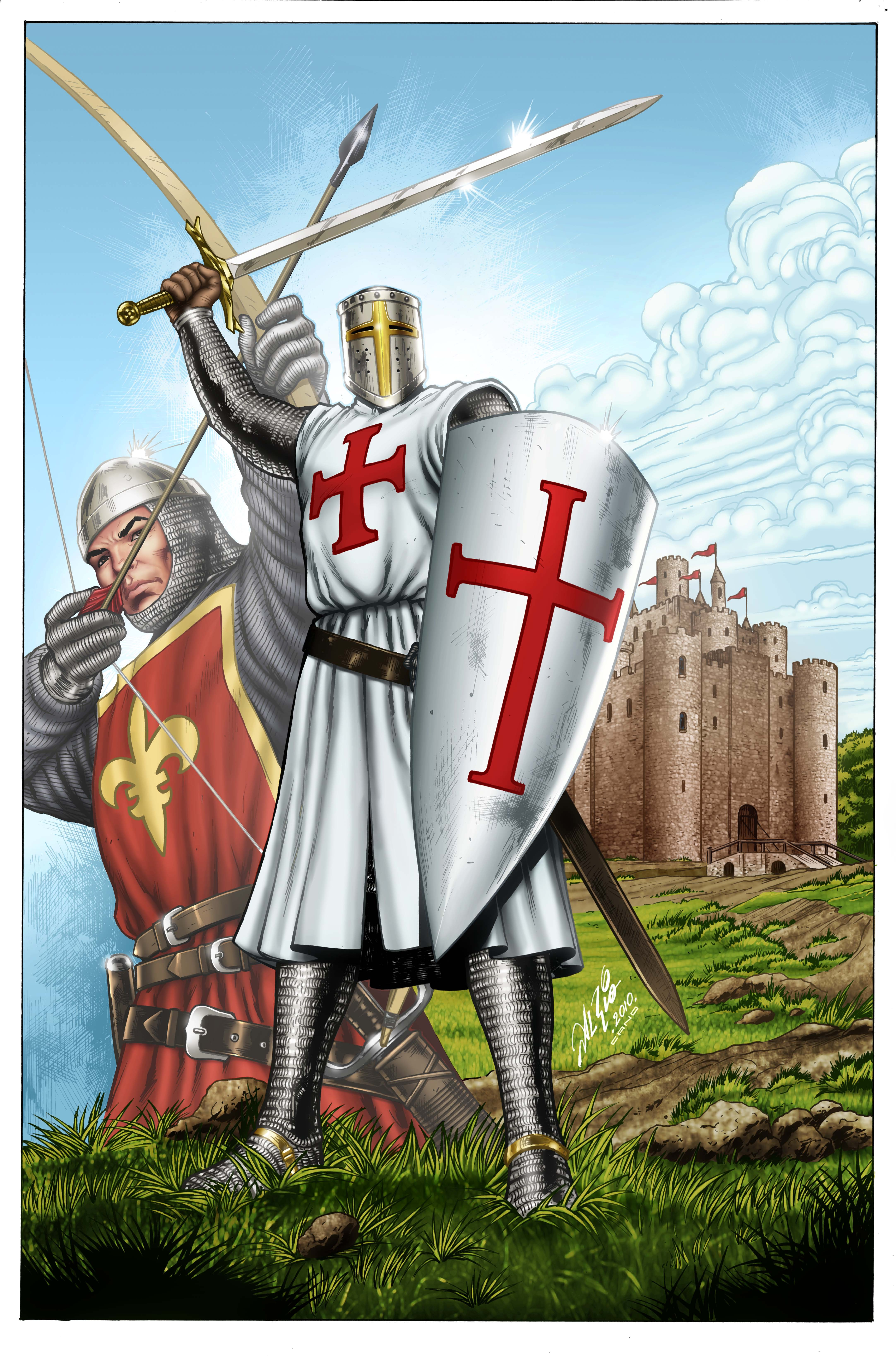 the middle ages The story of the middle ages is told through the lives of attila the hun,  charlemagne, william the conqueror, edward the black prince, and joan of arc,  among.