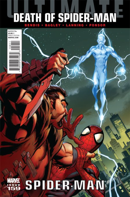 Ultimate Comics Spider-Man #159 Cover