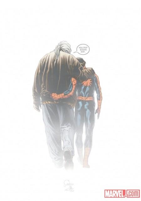 Ultimate Comics Spider-Man #160 Cover Quesada Variant