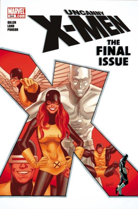 Uncanny X-Men #544 Cover