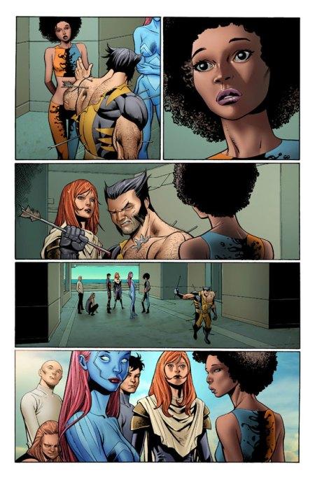 X-Men Schism #1 Preview1