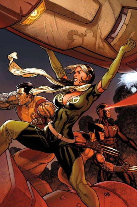 X-Men: Schism #2 Cover