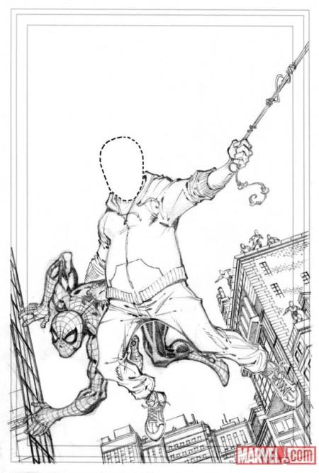 Amazing Spider-Man #669 Variant Mockup