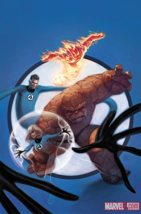 Fantastic Four Season One Cover