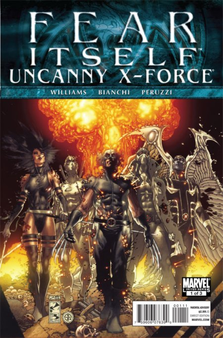 FearI tself: Uncanny X-Force #1 Cover