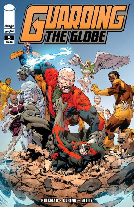 Guarding The Globe #5 cover