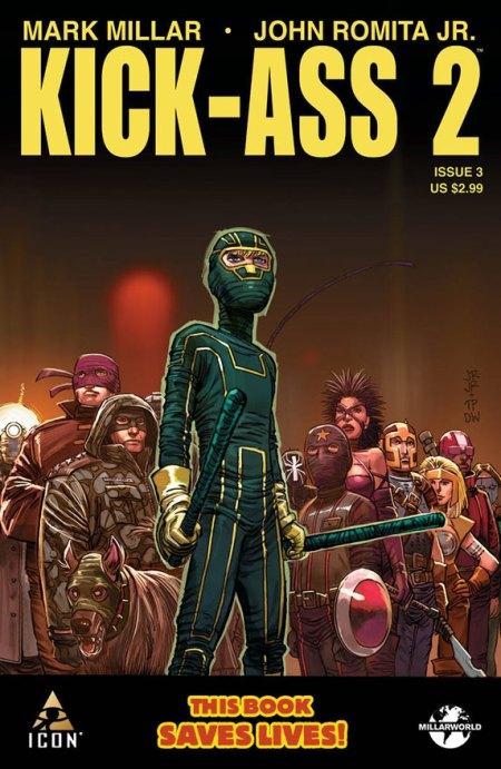 KICK ASS 2 #3 Cover