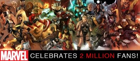 Marvel 2 Million Fans