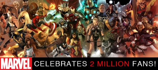 Marvel 2 Million Fans