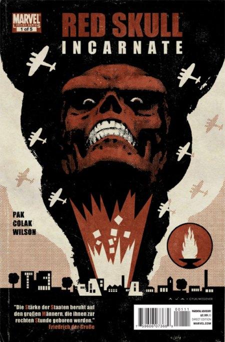Red Skull #1 Cover