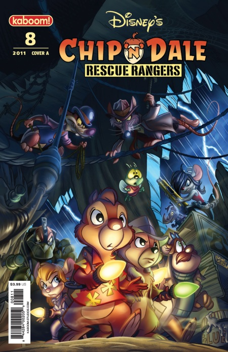 Chip 'N' Dale Rescue Rangers #8 Cover A