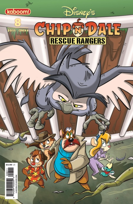Chip 'N' Dale Rescue Rangers #8 Cover B