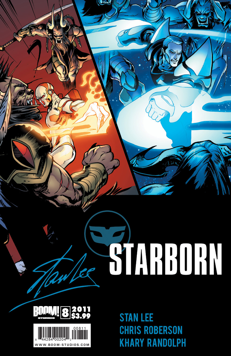 Preview - Stan Lee's Starborn #8 - Graphic Policy