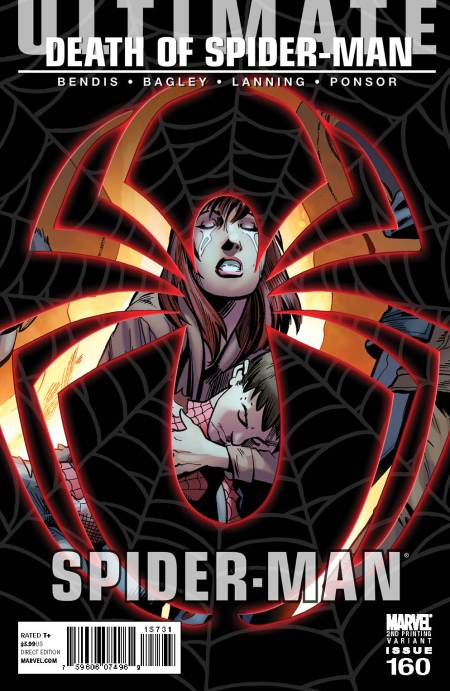 Ultimate Comics Spider-Man #160 2nd printing