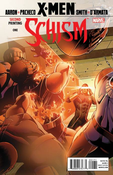 X-Men: Schism #1 Second Cyclops Cover