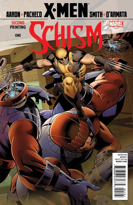X-Men: Schism #1 Second Wolverine Cover