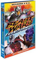 Beast Wars Season 2 and 3