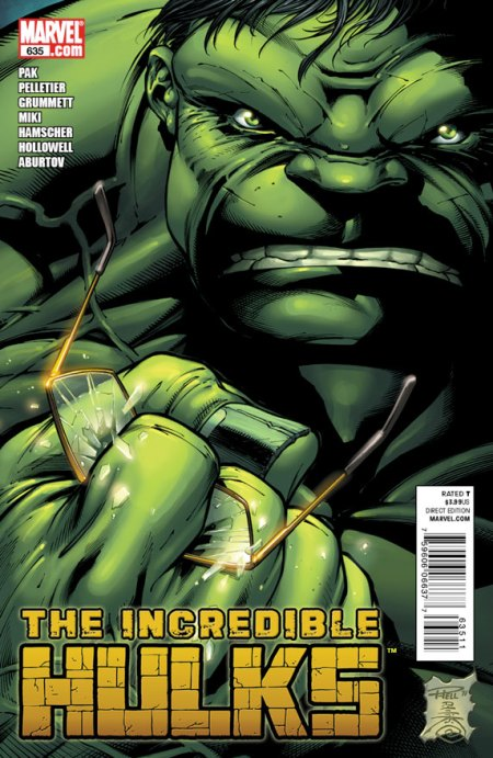 INCREDIBLE HULKS #635 Cover