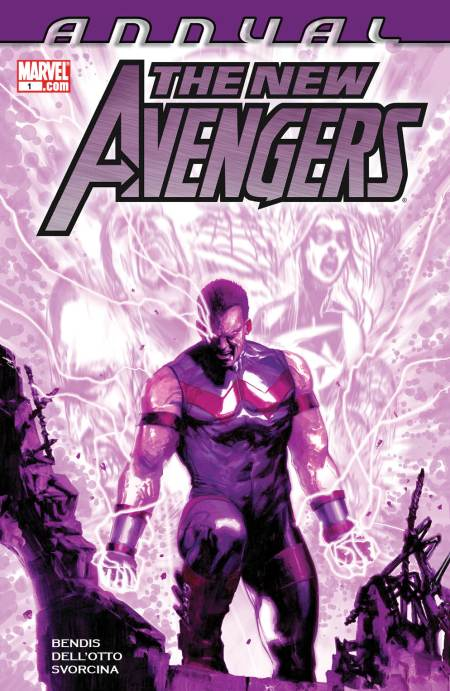 New Avengers Annual #1 Cover