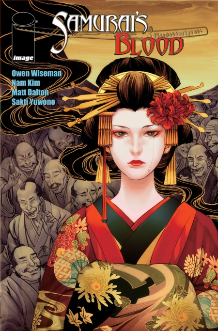 Samurais Blood #3 Cover