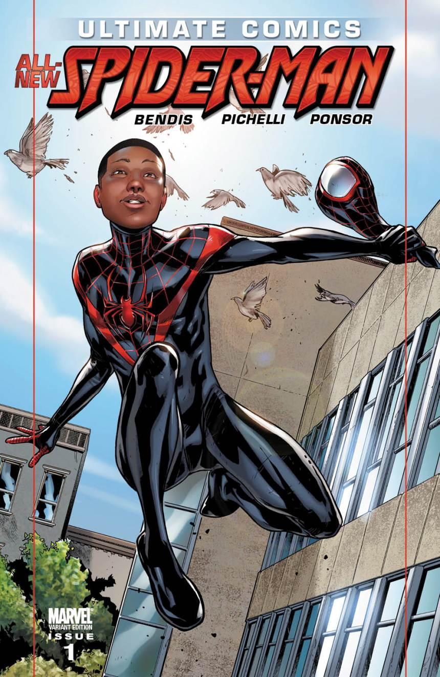 Ultimate Comics Spider-Man #1 Miles Variant