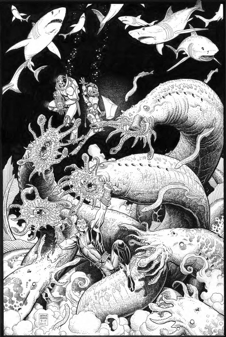 Your First Look At Arthur Adams Covers To Fear Itself